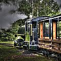 Steam Locomotive by Deborah Klubertanz