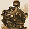 Steam Locomotive by Ha Ko