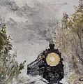 Steam Locomotive by Maria Karalyos
