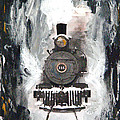Steam Locomotive by Michael Tokarski