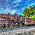Steam Locomotive No 1151 Norfolk And Western Class M2c by Greg Hager