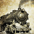 Steam Locomotive No. 334 by Daniel Hagerman