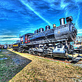 Steam Locomotive No 4 Virginian Class Sa  by Greg Hager