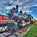 Steam Locomotive No 6 Norfolk And Western  by Greg Hager