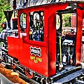 Steam Locomotive Old West V2 by John Straton