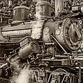 Steam Power Sepia by Steve Harrington