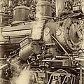 Steam Power Sepia Vignette by Steve Harrington
