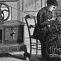 Steam-powered Sewing Machine by Science Source