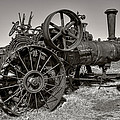 Steam Tractor - Molson Ghost Town by Daniel Hagerman