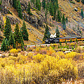 Steam Train 5 by Randy Giesbrecht