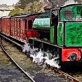 Steam Train by John Lynch
