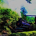 Steam Train Of Sevierville by Peggy Leyva Conley