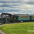 Steam Train Tr3627-13 by Randy Harris