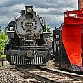Steam Train Tr3637-13 by Randy Harris