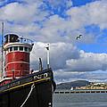 Steam Tug Hercules by Kate Brown