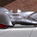 Steam Turbine Trike  by Stuart Swartz
