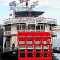 Steamboat Natchez by Ed Weidman