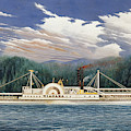Steamboat Niagara, 1852 by Granger