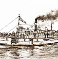 Steamboat Reliance Sepia by James Williamson