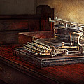 Steampunk - A Crusty Old Typewriter by Mike Savad