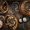 Steampunk - Abstract - Time Is Complicated by Mike Savad