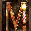Steampunk - Alphabet - M Is For Mustache by Mike Savad
