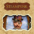 Steampunk Button by Mike Savad