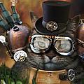 Steampunk Cat by Juli Scalzi