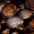Steampunk - Clock - Time Worn by Mike Savad