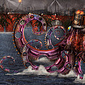 Steampunk - Enteroctopus Magnificus Roboticus by Mike Savad