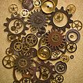 Steampunk Gears by Diane Diederich