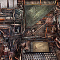 Steampunk - Machine - All The Bells And Whistles  by Mike Savad