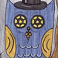 Steampunk Owl by Tambra Wilcox