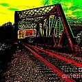 Steampunk Railroad Truss Bridge by Peter Ogden
