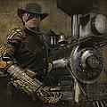 Steampunk - The Man 1 by Jeff Burgess
