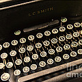 Steampunk - Typewriter - The Age Of Industry by Paul Ward