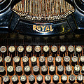 Steampunk - Typewriter -the Royal by Paul Ward