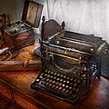 Steampunk - Typewriter - The Secret Messenger  by Mike Savad