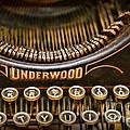 Steampunk - Typewriter - Underwood by Paul Ward