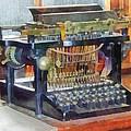 Steampunk - Vintage Typewriter by Susan Savad