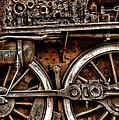 Steampunk- Wheels Locomotive by Daliana Pacuraru