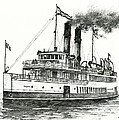 Steamship Tacoma by James Williamson