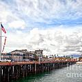 Stearns Wharf Santa Barbara California by Artist and Photographer Laura Wrede