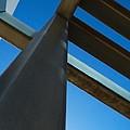 Steel Blue - Industrial Abstract by Steven Milner