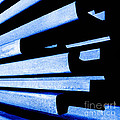 Steel Blue - Modern Abstract by Steven Milner