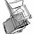 Steel Chair by Christopher McKenzie