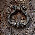 Steel Decorated Doorknob by Jaroslaw Blaminsky