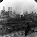 Steel Factory, C1907 by Granger