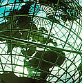 Steel Globe At The Trump International by Panoramic Images