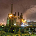 Steel Mill At Night by Juli Scalzi
